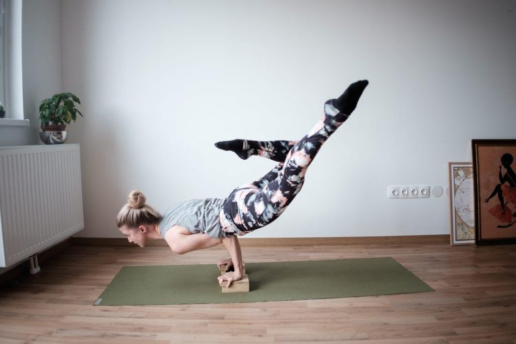 Yogablokk i tre