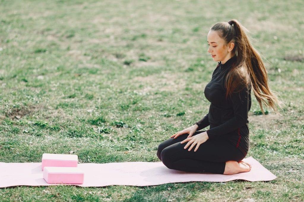 Yogablokker av skum