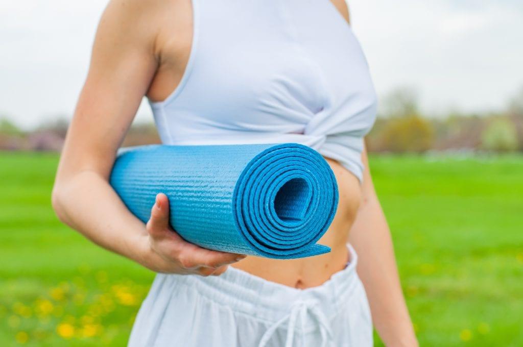 Er portabilitet viktig for deg når du skal velge deg en yogamatte?