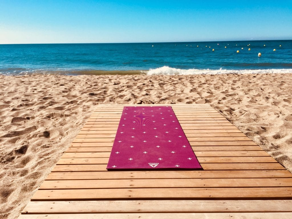 Yoga with a view!