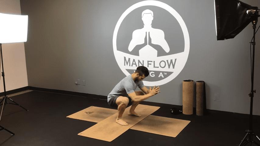 Learn Crow Pose in 5 Minutes   yogaformen 1 11 screenshot