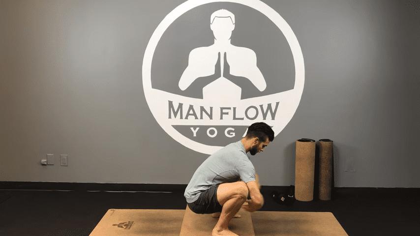 Learn Crow Pose in 5 Minutes   yogaformen 1 37 screenshot