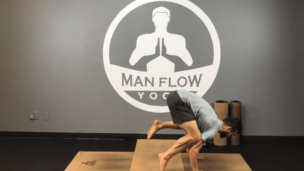 Learn Crow Pose in 5 Minutes yogaformen 3 18 screenshot
