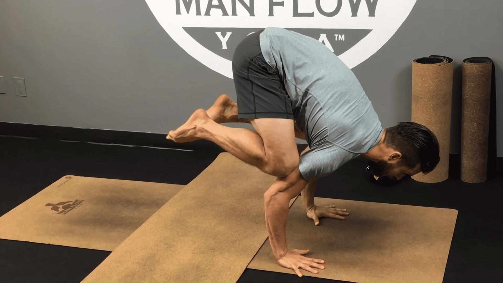 Learn Crow Pose in 5 Minutes   yogaformen 3 23 screenshot