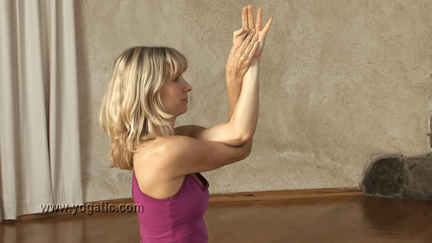 Yoga for Opening the Shoulders 10 24 screenshot
