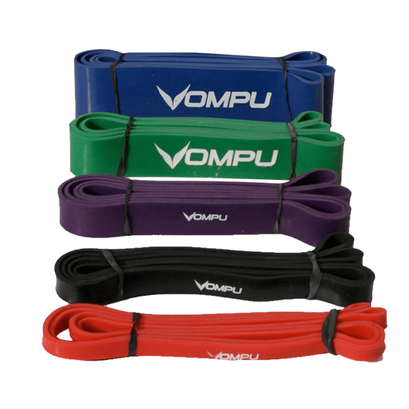 ompu extreme fitness band red 200cm x 13mm ompu gear 1