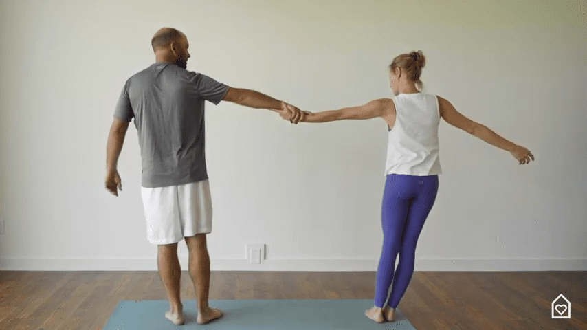 Couples Yoga Guided Instructions Date Night In Box 10 55 screenshot