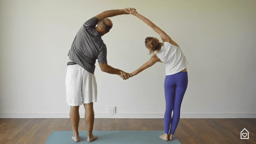 Couples Yoga Guided Instructions Date Night In Box 11 16 screenshot