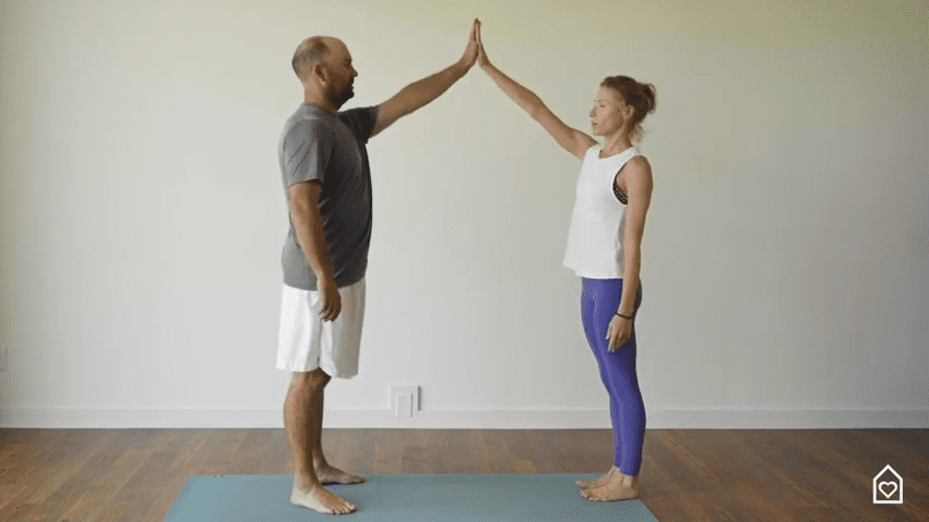 Couples Yoga Guided Instructions Date Night In Box 11 46 screenshot