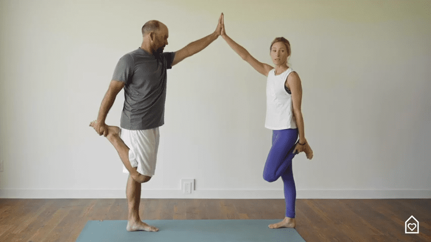 Couples Yoga Guided Instructions Date Night In Box 12 11 screenshot