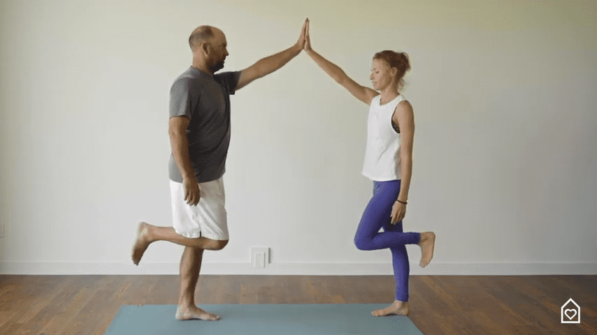 Couples Yoga Guided Instructions Date Night In Box 12 2 screenshot