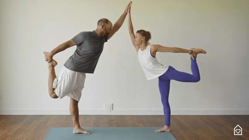 Couples Yoga Guided Instructions Date Night In Box 12 35 screenshot