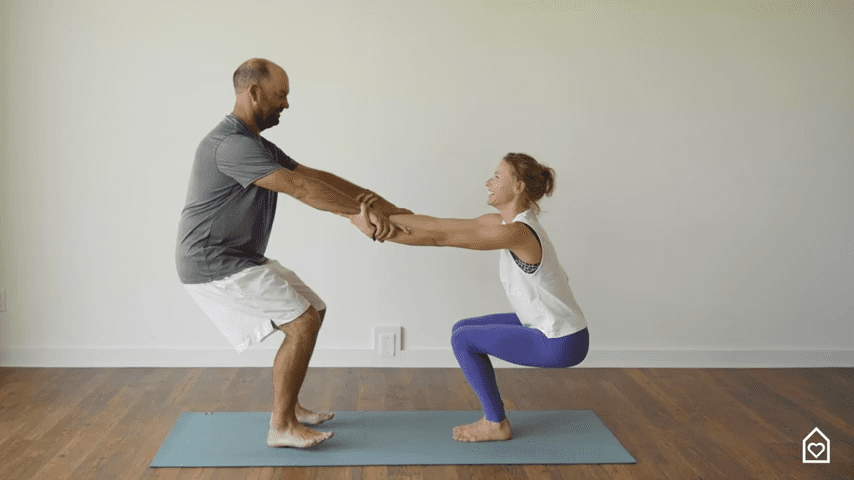 Couples Yoga Guided Instructions Date Night In Box 13 15 screenshot
