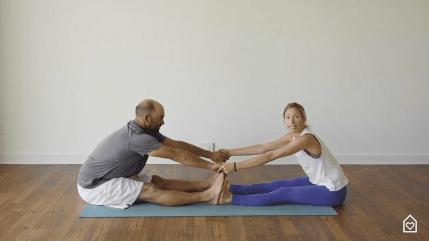 Couples Yoga Guided Instructions Date Night In Box 13 38 screenshot