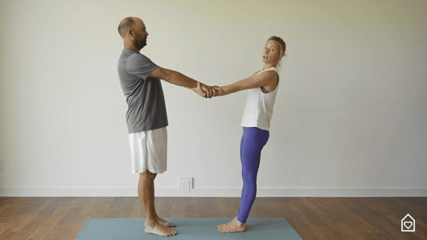 Couples Yoga Guided Instructions Date Night In Box 13 5 screenshot