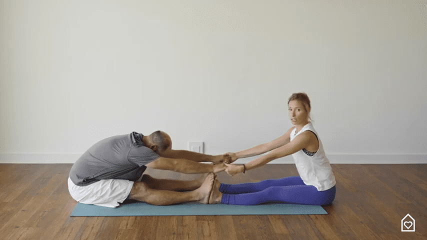 Couples Yoga Guided Instructions Date Night In Box 13 59 screenshot