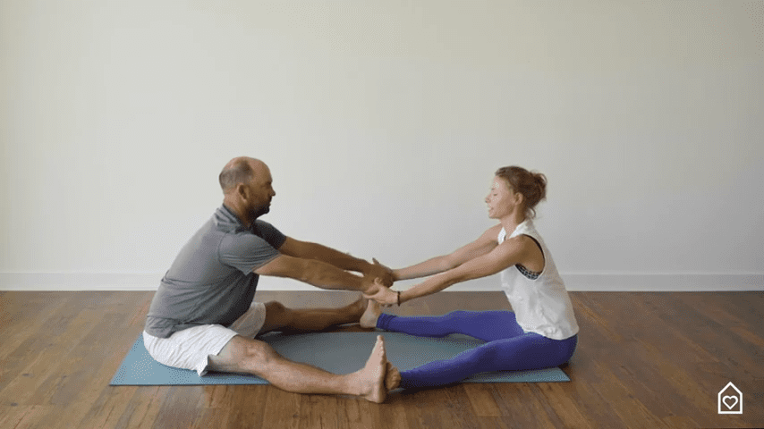 Couples Yoga Guided Instructions Date Night In Box 15 7 screenshot