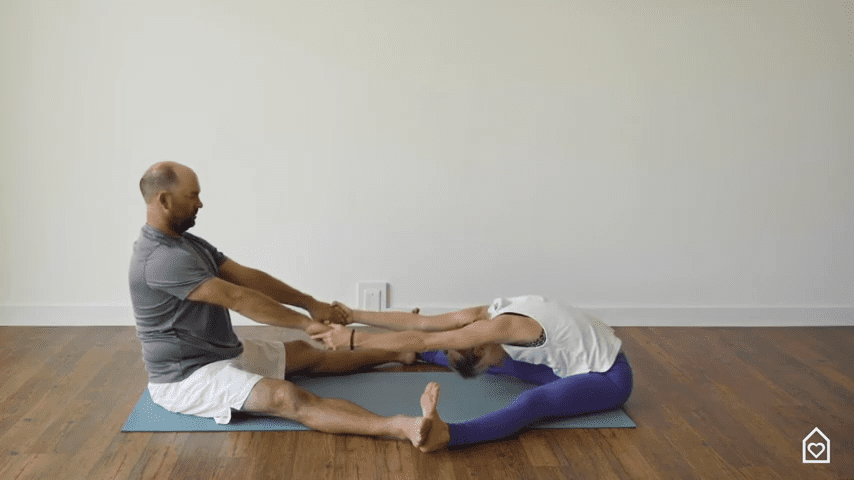 Couples Yoga Guided Instructions Date Night In Box 16 3 screenshot
