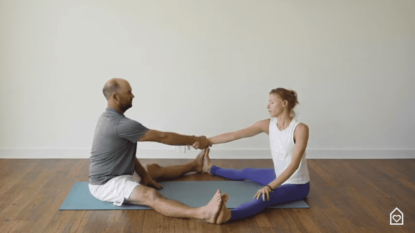 Couples Yoga Guided Instructions Date Night In Box 16 40 screenshot