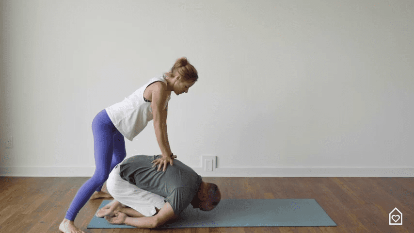 Couples Yoga Guided Instructions Date Night In Box 18 25 screenshot