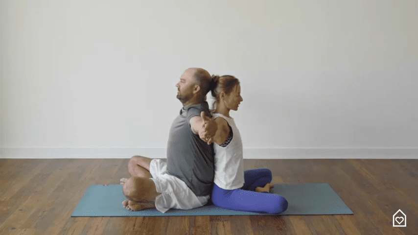 Couples Yoga Guided Instructions Date Night In Box 2 16 screenshot