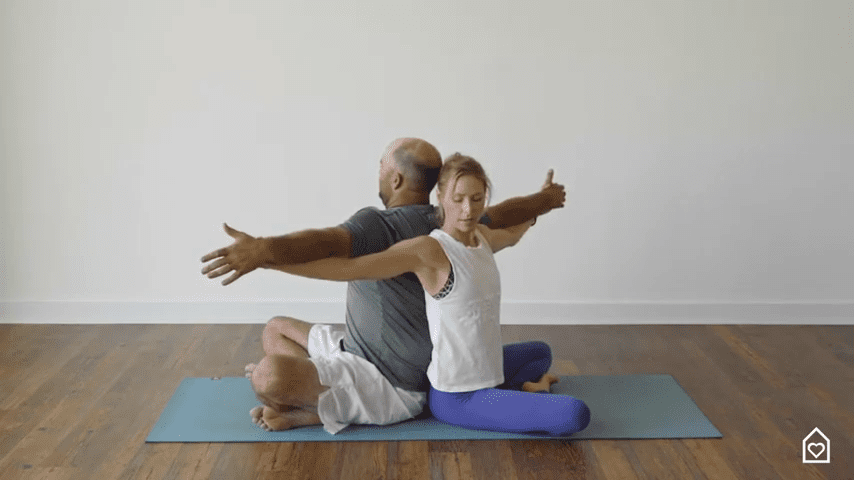 Couples Yoga Guided Instructions Date Night In Box 2 25 screenshot