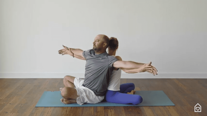 Couples Yoga Guided Instructions Date Night In Box 2 36 screenshot