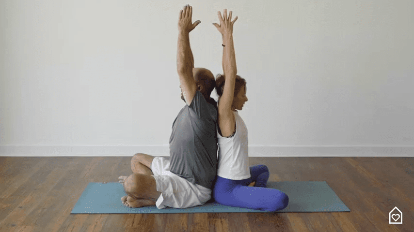 Couples Yoga Guided Instructions Date Night In Box 4 38 screenshot