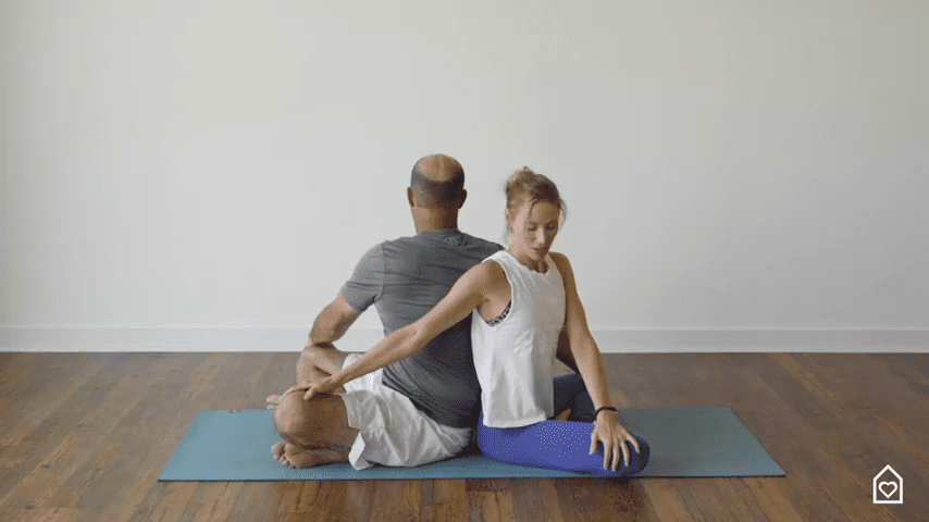 Couples Yoga Guided Instructions Date Night In Box 4 53 screenshot