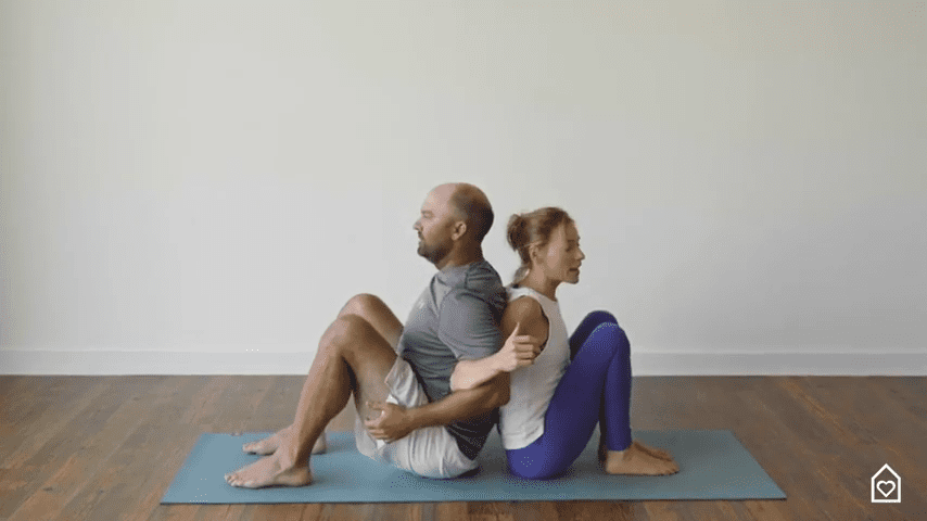 Couples Yoga Guided Instructions Date Night In Box 8 14 screenshot