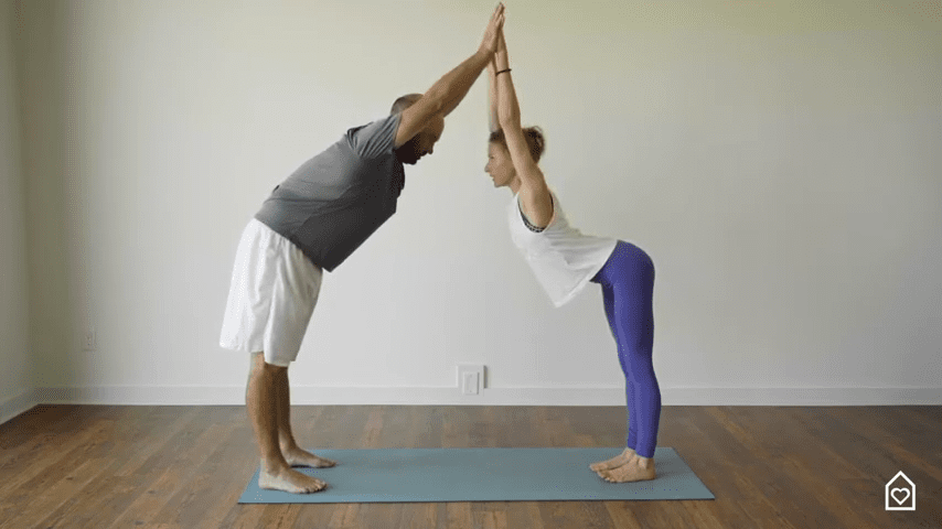 Couples Yoga Guided Instructions Date Night In Box 9 12 screenshot