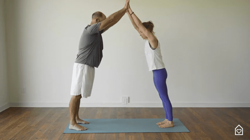Couples Yoga Guided Instructions Date Night In Box 9 5 screenshot