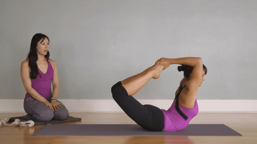 Hatha Yoga Big Toe Bow Pose Padangustha Dhanurasana 0 55 screenshot