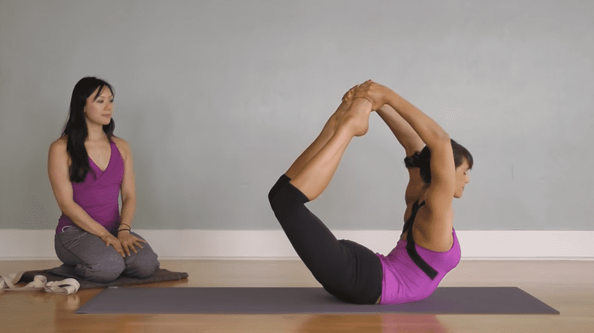 Hatha Yoga Big Toe Bow Pose Padangustha Dhanurasana 1 1 screenshot