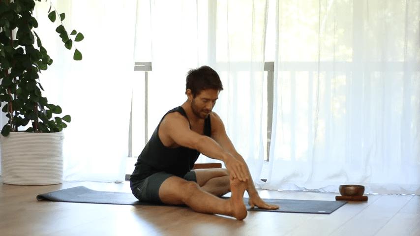The Top 5 Poses Lotus Pose Mobility Learn to Sit in Padmasana Full Lotus   Yoga With Tim 2 35 screenshot
