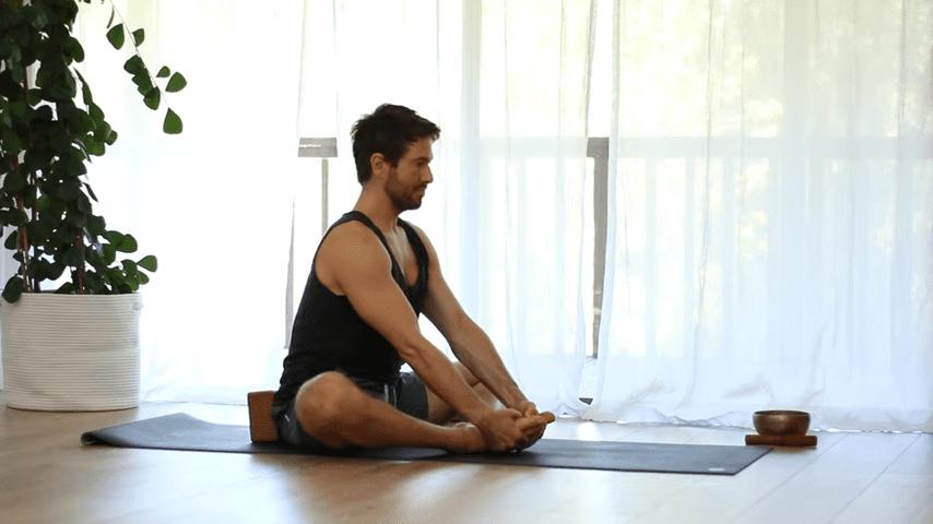 The Top 5 Poses Lotus Pose Mobility Learn to Sit in Padmasana Full Lotus   Yoga With Tim 4 40 screenshot