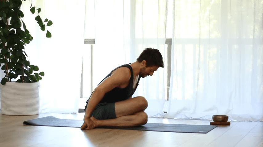 The Top 5 Poses Lotus Pose Mobility Learn to Sit in Padmasana Full Lotus   Yoga With Tim 7 10 screenshot