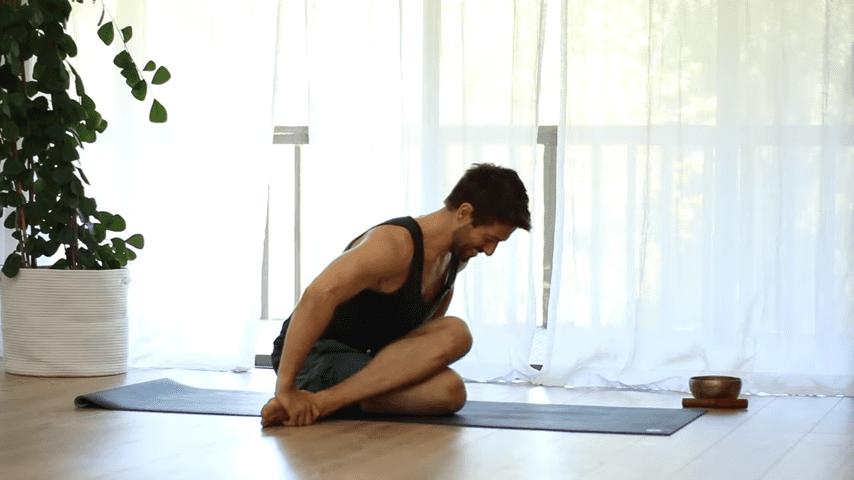 The Top 5 Poses Lotus Pose Mobility Learn to Sit in Padmasana Full Lotus   Yoga With Tim 7 32 screenshot