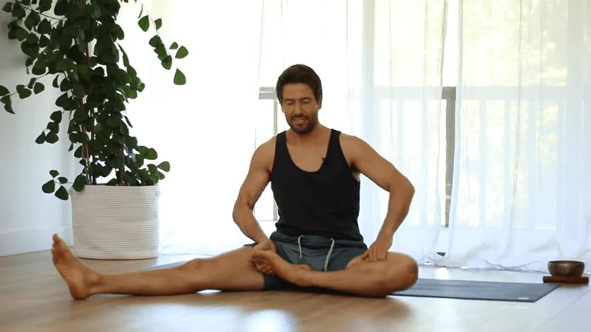 The Top 5 Poses Lotus Pose Mobility Learn to Sit in Padmasana Full Lotus   Yoga With Tim 8 34 screenshot