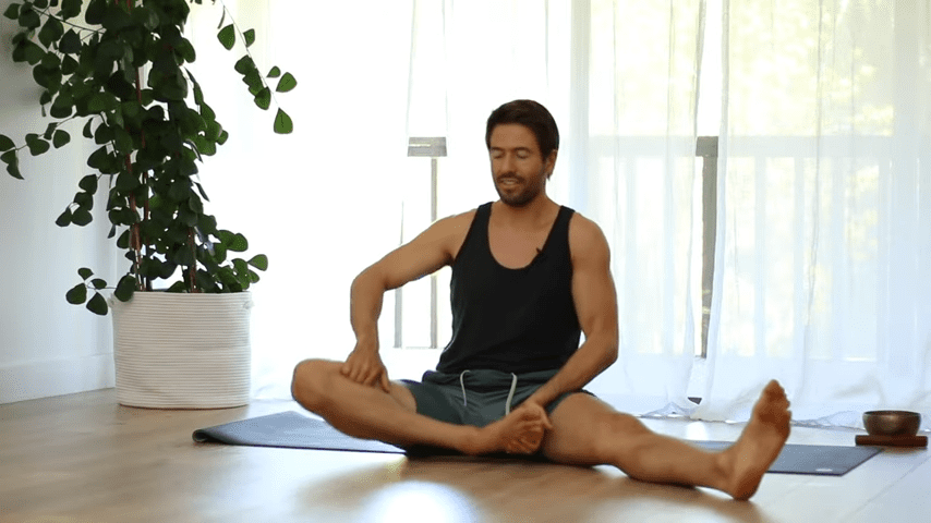 The Top 5 Poses Lotus Pose Mobility Learn to Sit in Padmasana Full Lotus   Yoga With Tim 8 37 screenshot