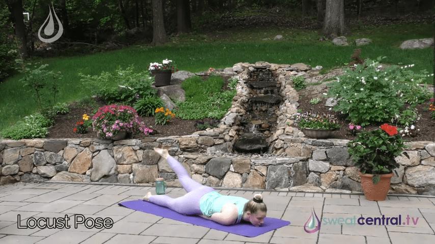 Bikram Yoga Class 30 Minutes. All 26 Bikram Yoga Postures 19 31 screenshot