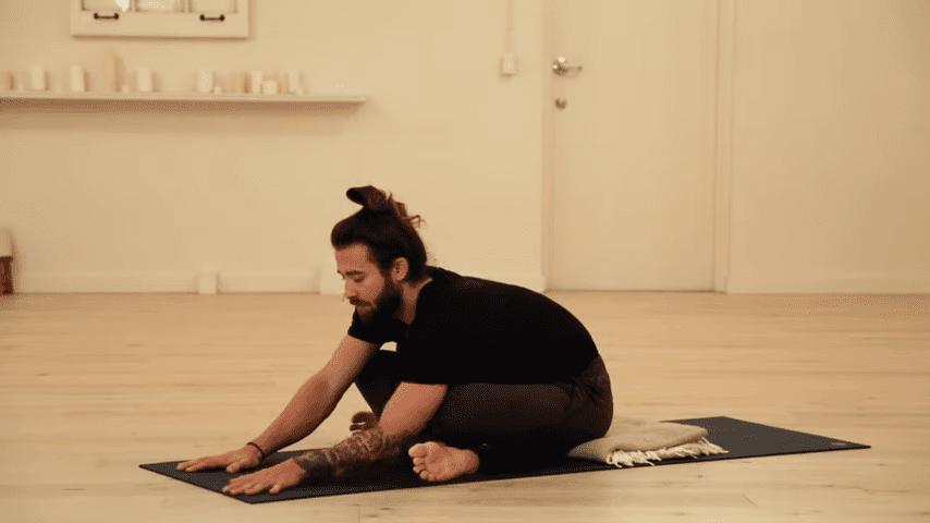 Restorative Hip Opening Yoga Practice Yoga with Patrick Beach 0 50 screenshot