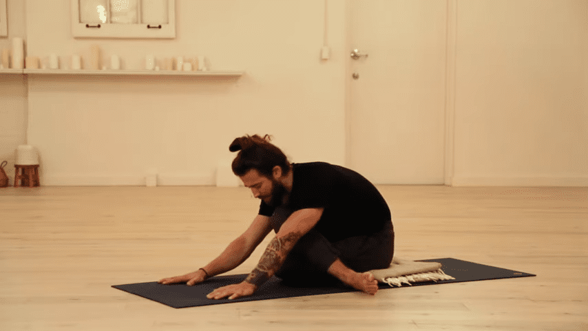 Restorative Hip Opening Yoga Practice Yoga with Patrick Beach 17 24 screenshot