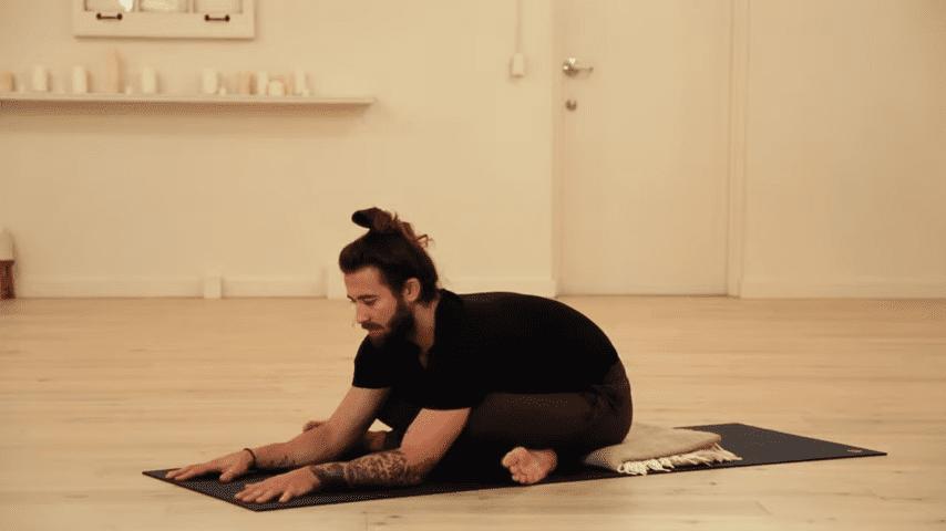 Restorative Hip Opening Yoga Practice Yoga with Patrick Beach 2 41 screenshot