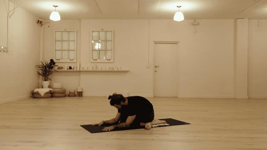 Restorative Hip Opening Yoga Practice Yoga with Patrick Beach 20 6 screenshot