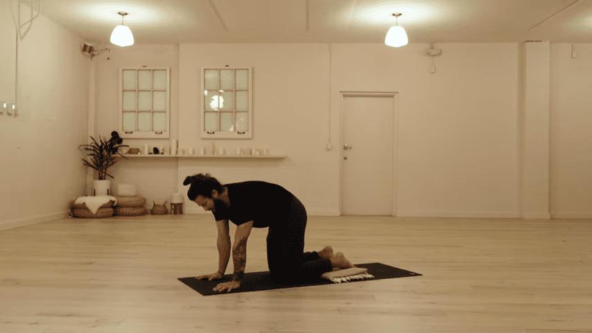 Restorative Hip Opening Yoga Practice Yoga with Patrick Beach 5 12 screenshot