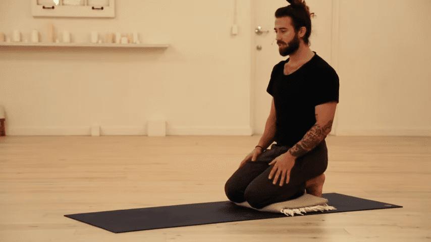 Restorative Hip Opening Yoga Practice Yoga with Patrick Beach 6 37 screenshot