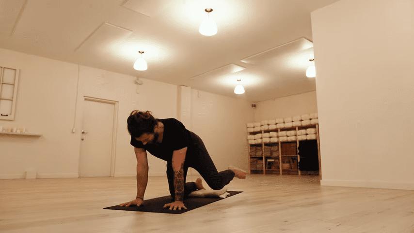 Restorative Hip Opening Yoga Practice Yoga with Patrick Beach 6 4 screenshot