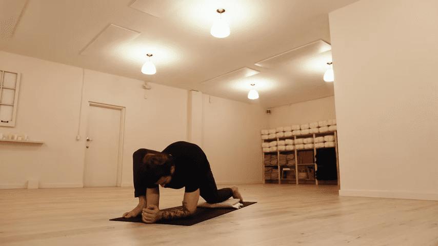 Restorative Hip Opening Yoga Practice Yoga with Patrick Beach 8 37 screenshot