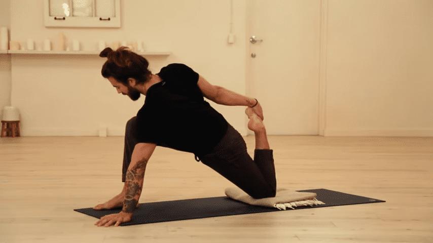 Restorative Hip Opening Yoga Practice Yoga with Patrick Beach 9 13 screenshot